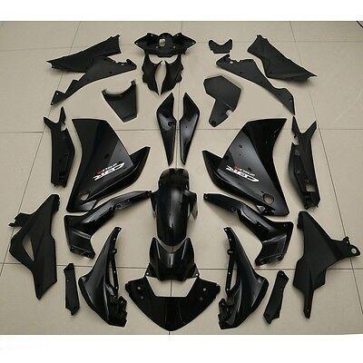 Black ABS Fairing Body Work Kit Set For HONDA CBR250RR CBR 250 RR 2011-2013 2012