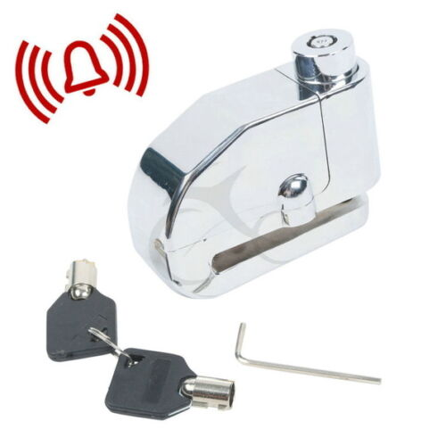 Security Motorcycle Bike Scooter Safety Disc Brake Rotor Lock Electronic Alarm