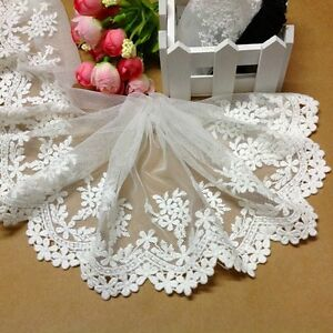 5-1yard-delicate-white-embroidered-flower-tulle-lace-trim-for-DIY