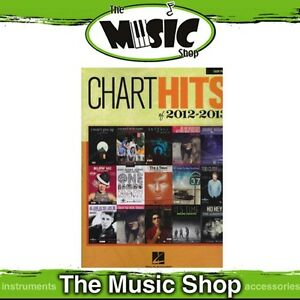 New Chart Hits of 2012 - 2013 Music Book for Easy Piano