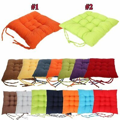 Bedroom Chair Seat Pads Ties Cushions Patio Home Kitchen Indoor Outdoor Dining ()