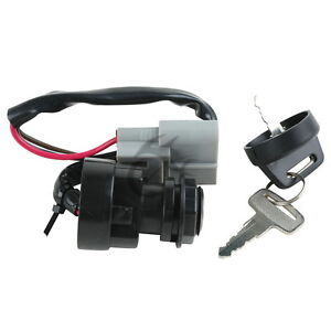 Ignition switch key for yamaha grizzly 660 yfm660 2002 for Yamaha grizzly 660 tracks