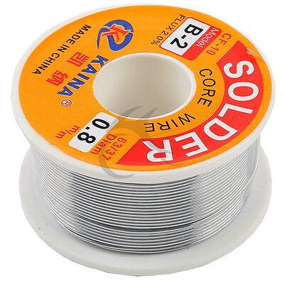 0.8mm Tin Lead Line Soldering Wire Reel 6337 Rosin Core Solder 14m Length Wire