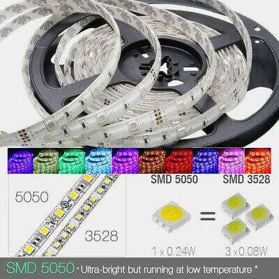 50M 10x5M Waterproof 5050 SMD RGB Flexible LED Strip Light Lamp 150Led DC 12V