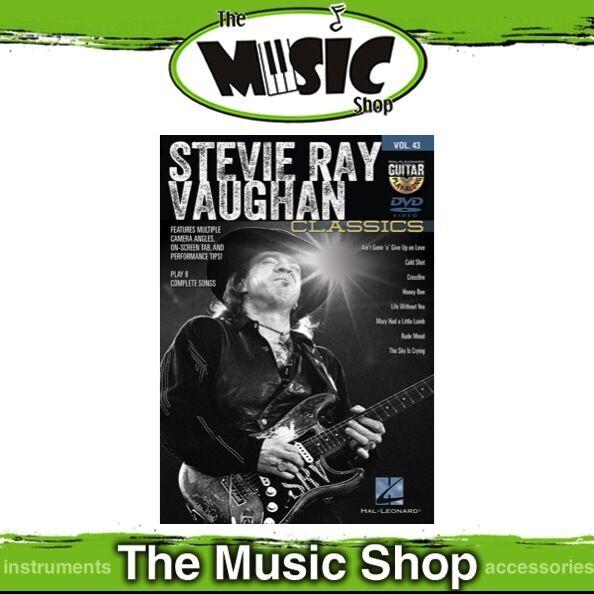 New Stevie Ray Vaughan Classics Guitar Play Along DVD Volume 43