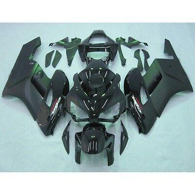 Black Injection ABS Fairing Body Work Kit For Honda CBR 1000RR 2004-2005 04 05
