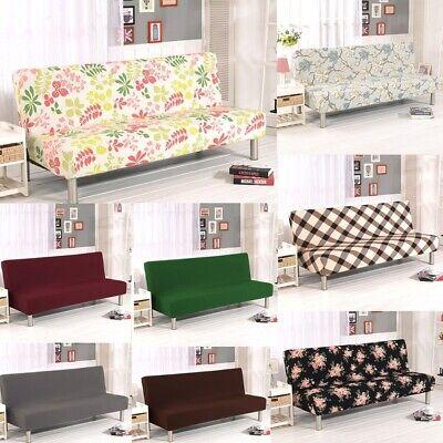 WATTA Solid Color Futon Cover Slipcover Couch Chair Soft Lov