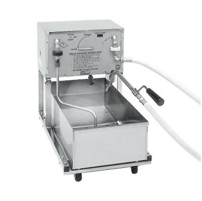 Pitco Rp18 75 Lb Capacity Mobile Reversible Pump Fryer Filter