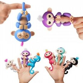 A Lot of 50 Fingerlings Bulk/Wholesale Smart Interactive Baby MonkeyToys Finger Pet Puppets Kids