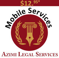 MOBILE NOTARY PUBLIC / COMMISSIONER OF OATHS SERVICES (7 DAYS)