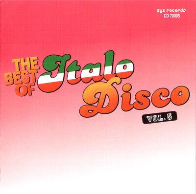 2CD Various - The Best Of Italo Disco Vol. 5 ( 2 AUDIO CDs in JEWEL CASE