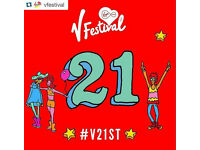 V Festival Chelmsford tickets x2 (+ optional 2 rooms in nearby hotel). ANY SERIOUS OFFERS CONSIDERED