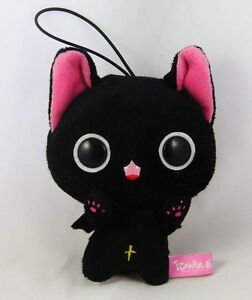 The Gothic World of Nyanpire Yukiusa Cat Plush Mascot 10cm