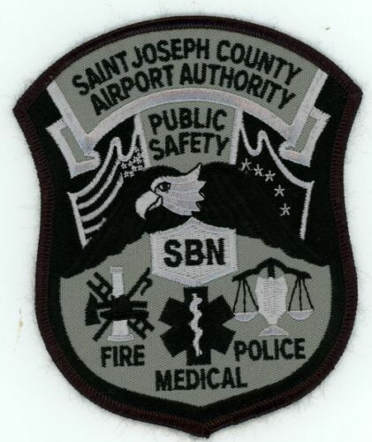 SAINT JOSEPH COUNTY AIRPORT AUTHORITY MICHIGAN MI NEW PATCH POLICE PUBLIC SAFETY