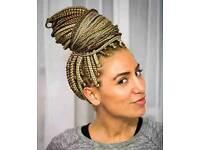 I do professional Weaves,Braids,Twists,Pick&Dropbraids,Marleybraids,Cornrows,Crochetbraids,Wigs