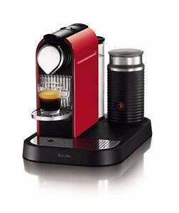 Brand New Nespresso Breville Citiz & Milk Coffee Machine Red Waterloo Inner Sydney Preview