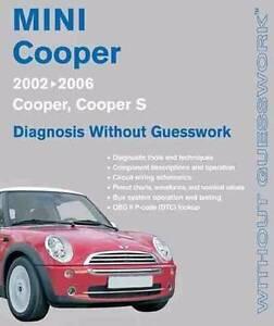 Mini Cooper : Diagnosis Without Guesswork Handbook 2002 - 2006 Hazelbrook Blue Mountains Preview