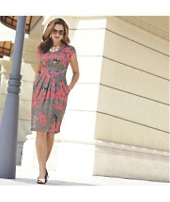 Brand New Womens Monroe   Main Wowi Maui Dress Size Medium