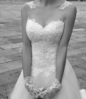 new wedding dress.