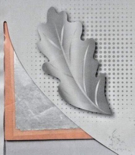 Silver leaf sheet 25 pieces craft art restoration 14 x 14cm FREE AND FAST POST