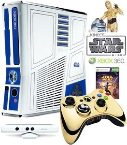 XBOX 360 Kinect Star Wars Limited Edition