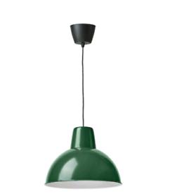 Pendant lamps, dark green, 38cm