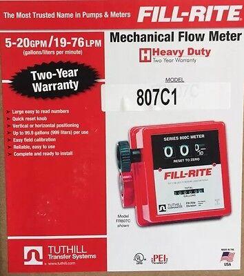 Fill-rite 807c1 1 Mechanical Flow Meter
