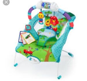 Baby bouncer chair (vibrates too) with sounds