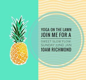 Free Yoga in the Park Sunday 22nd Jan Richmond 10am Richmond Yarra Area Preview