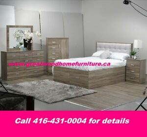 QUEEN SIZE STORAGE BEDROOM SET..$999 ONLY