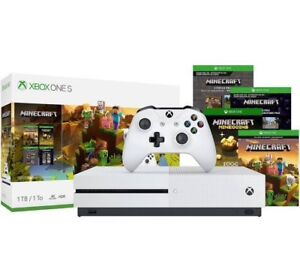 Xbox One S 1TB Console - include 4 extra games