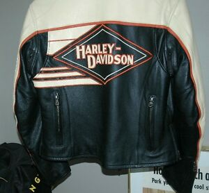 Ladies Leather Harley Davidson Riding Jacket One Of A Kind! London Ontario image 7