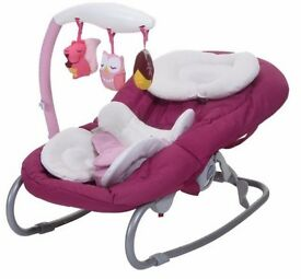 Baby Chicco Mia Bouncer (Mrs Owl) - Good Condition