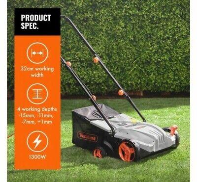 1300W 32cm Electric Lawn Rake