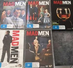 Mad Men - The whole five seasons Larrakeyah Darwin City Preview
