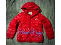 Boys BNWOT Moncler Jacket/Coat