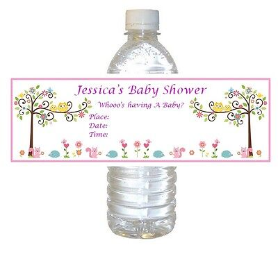 5  Baby Shower Party Favors ~ Water Bottle labels Buy 3 get 1 free (bp5)](Buy Baby Shower Favors)