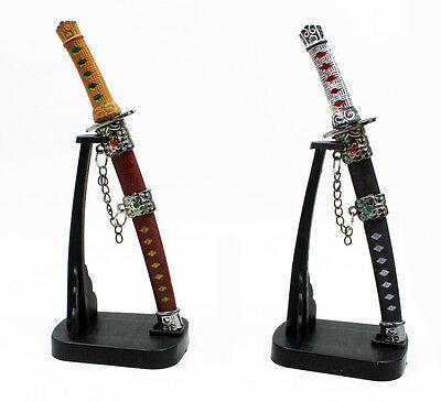 Brieföffner Samurai Schwert mit Ständer Geschenke für Männer Geschenkidee