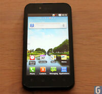 Lost Black LG Smart Phone with black protective case(RIF)