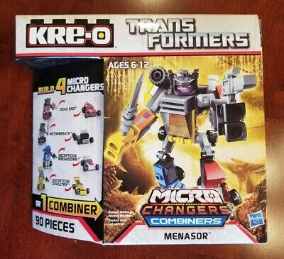 2014 Hasbro Transformers Kre-O Micro Changers Combiners: MENASOR sealed new
