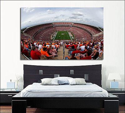 Alabama Crimson Tide Football Stadium Canvas Print  36 X 24 Panoramic Bryant