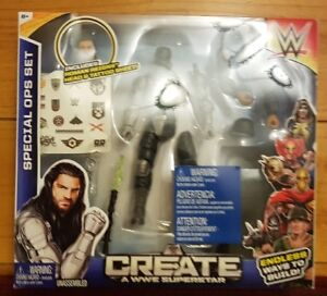 Create a WWE Superstar Special OPS Set Roman Reigns Wrestling