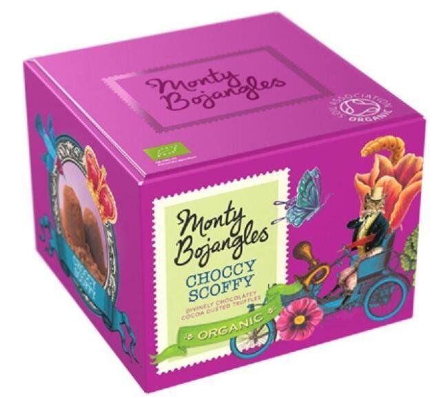 Monty Bojangles Choccy Scoffy Curious Truffles 150g
