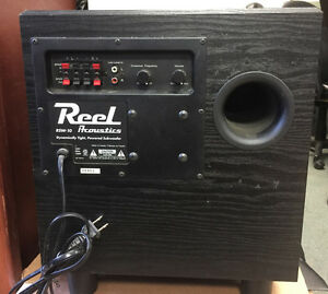 "Reel RSW-10 Acoustics 10"" 130W Subwoofer (Made in Canada)"