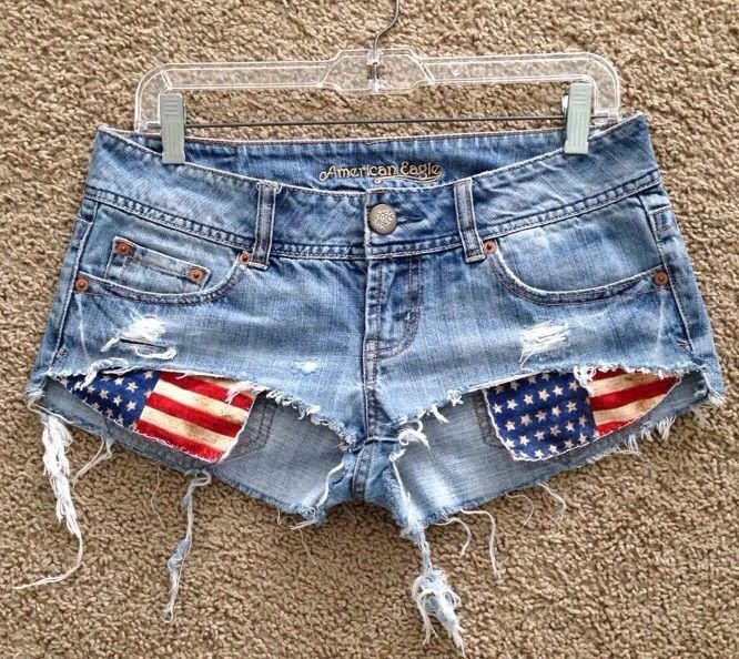 DIY: How to Sew American Flag-inspired Jeans | eBay