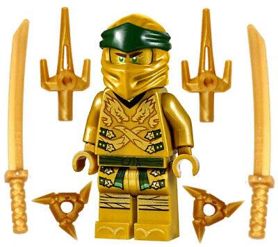 NEW LEGO NINJAGO GOLDEN NINJA LLOYD LEGACY MINIFIG 70666 minifigure figure gold
