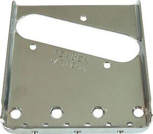 Fender Pat. Pend. Vintage Telecaster Bridge Plate 0054162049