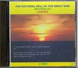 LONDON-SECTION-III-NATIONAL-ROLL-OF-THE-GREAT-WAR-CD