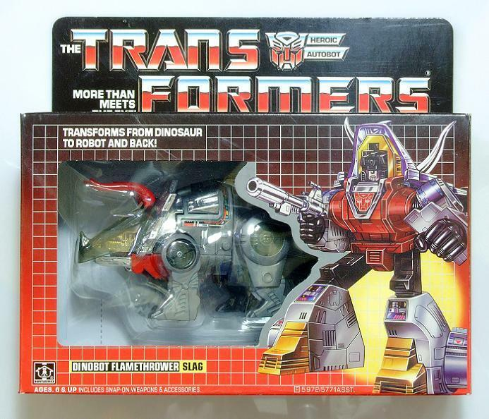 Transformers G1 Autobots DINOBOTS  Slag  actions figure kids toys in stock