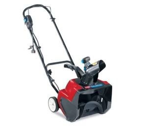 Toro Electric Snowblower and power cord